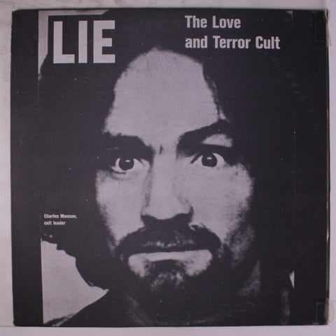"Random Pick! Charles Manson-""Lie: The Love and Terror Cult"" Red Vinyl"