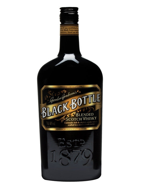 Gordon Graham's Black Bottle Blended Scotch