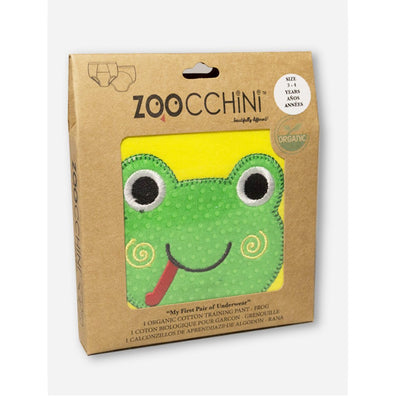 ZOOCCHINI 1 Piece Organic Potty Training Pant - Flippy the Frog-3