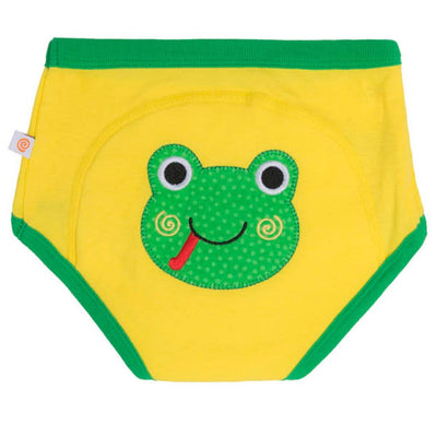 ZOOCCHINI 1 Piece Organic Potty Training Pant - Flippy the Frog-2
