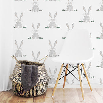 Baby bunny butt wallpaper