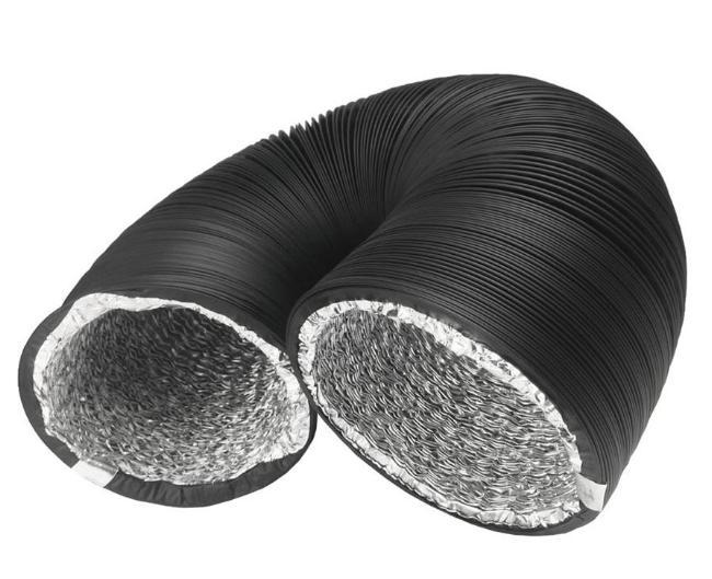 PVC Ducting Black