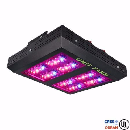 Unit Farm UFO-80 Cree Osram Diode Led Grow Light / Drawing 170W