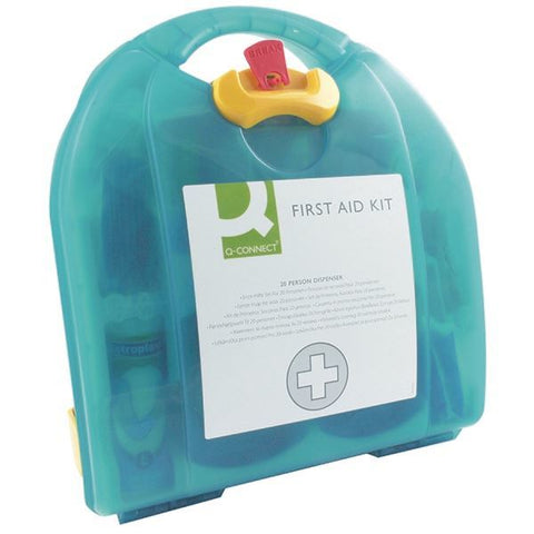 Q-Connect 20 Person Wall-Mountable First Aid Kit