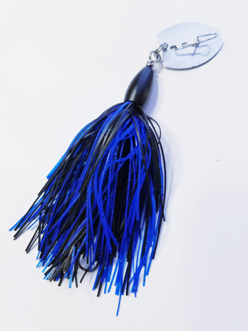 """3T"" Silicone Vibe 'Black/Blue': Bass"