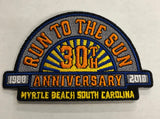 2018 Run to The Sun Hat Patch, Myrtle Beach, SC