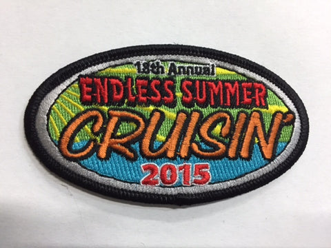 2015 Endless Summer Cruisin Hat Patch, Ocean City, Maryland
