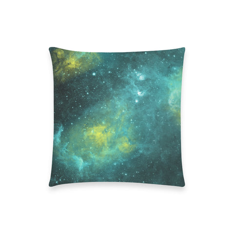 "Zephyrus Nebula - Custom Pillow Case 18""x18"" (one side) No Zipper"
