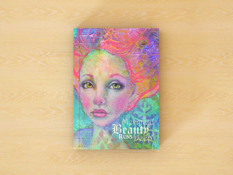 Mermaid Beauty Runs Deep - 100 Page Notebook/Journal with Dot, Graph, and Hexagon Pages