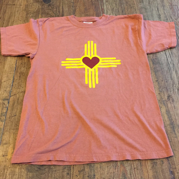 New Mexico Love Zia KIDS T-Shirt