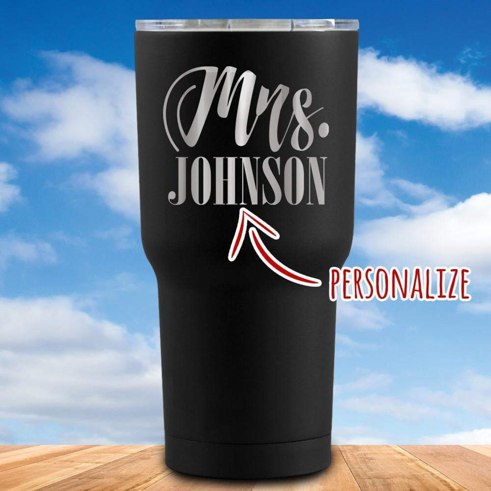 Mrs. Personalized Tumbler