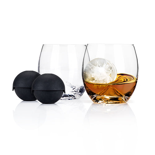 Glacier Rocks® Ice Ball Mold and Tumbler Set by Viski