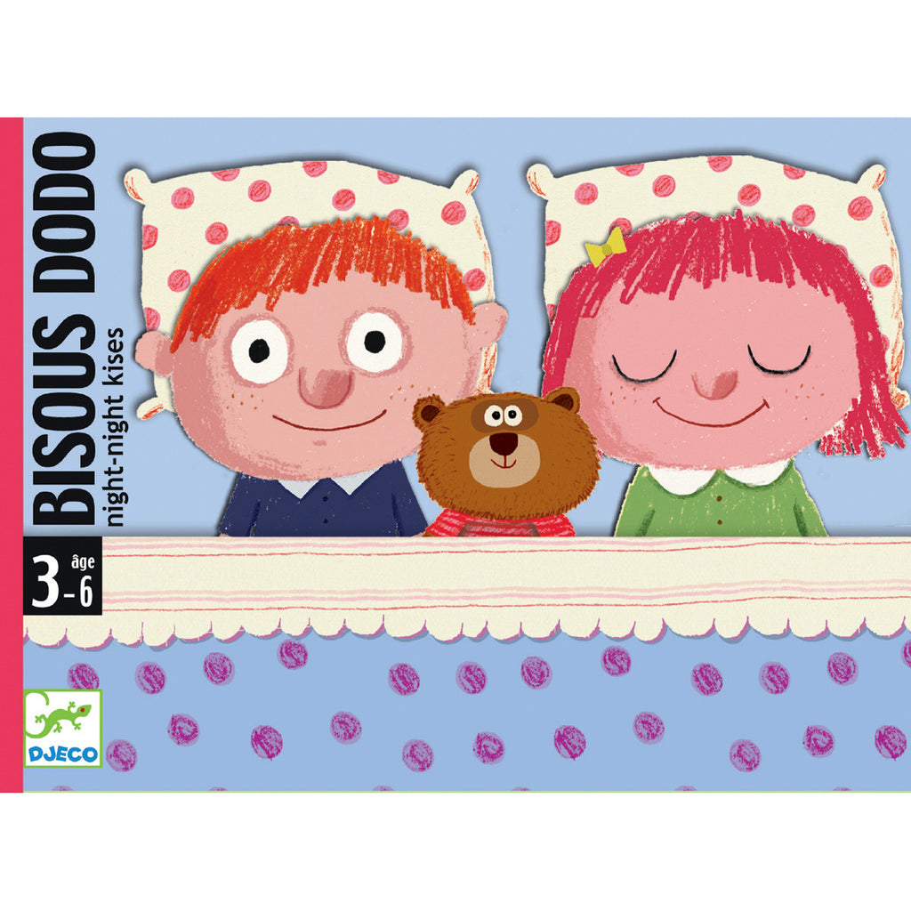 Djeco Game- Bisou Dodo Bedtime Game Packaging DJ05176