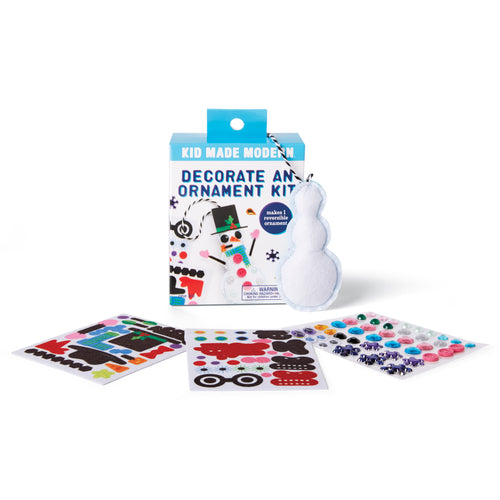 Decorate a Snowman Ornament Kit