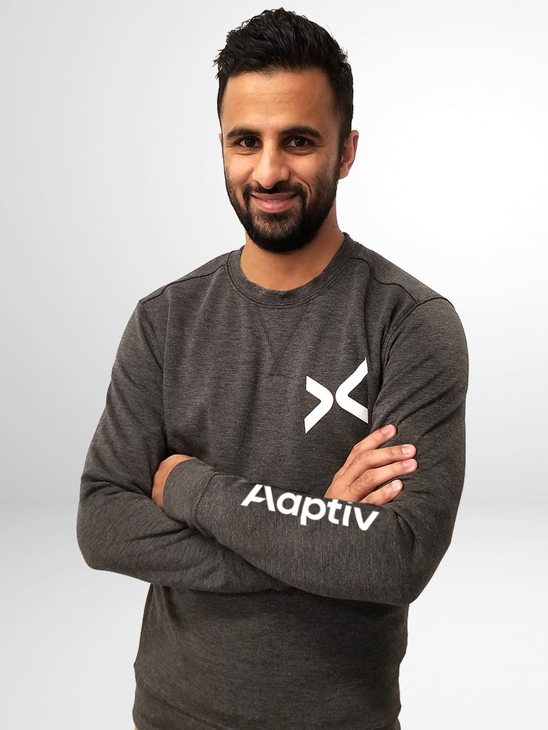 Aaptiv Performance Crew Neck Sweatshirt