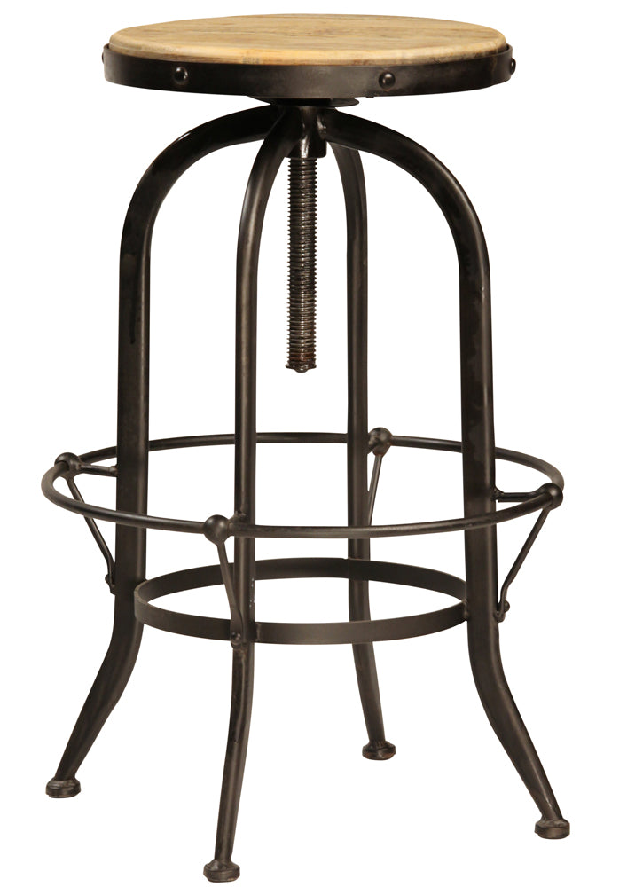 Ford Adjustable Backless Barstool