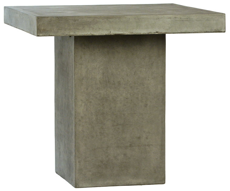 Ray Square Counter Height Table- Concrete