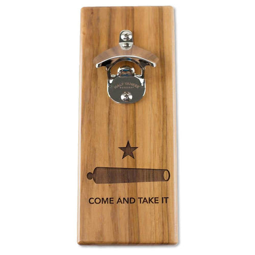 Come and Take It Magnetic Bottle Opener