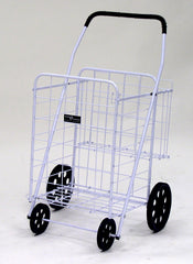 Narita™ Jumbo Plus Folding Shopping Cart w/Dual Baskets
