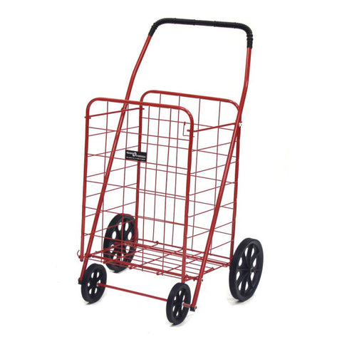 Red Narita™ Foldable Shopping Cart - Carts On The Go
