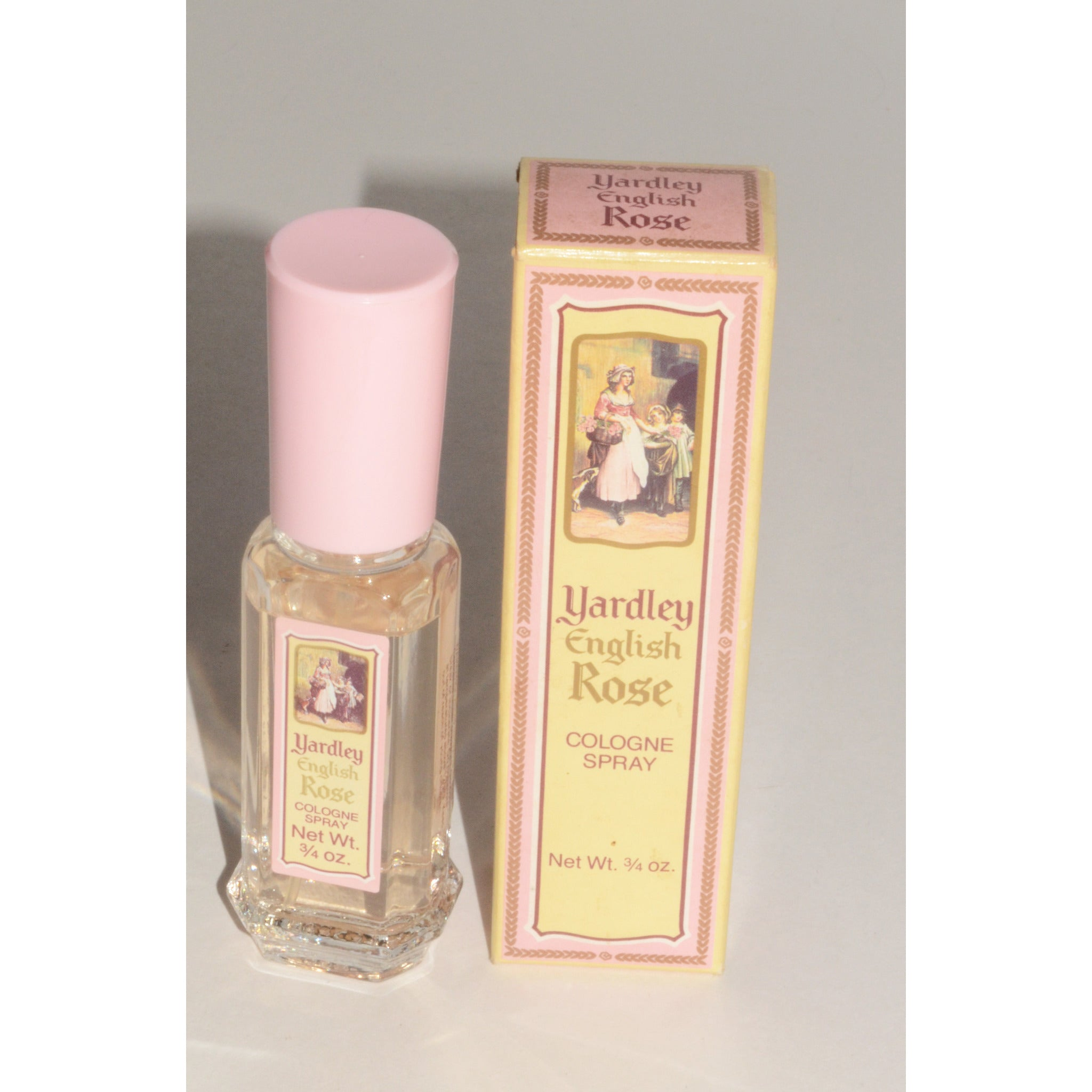 Vintage English Rose Cologne By Yardley