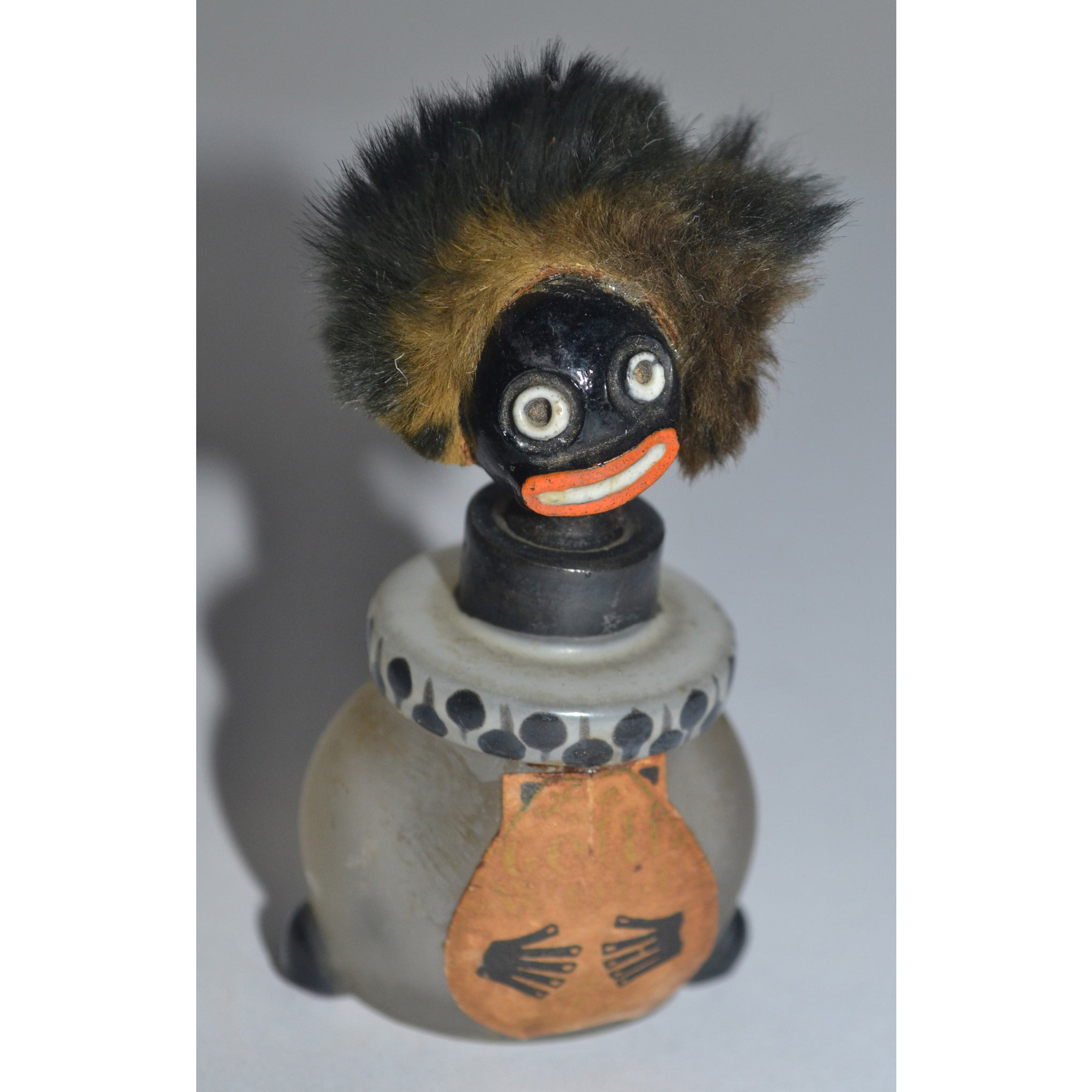 Vintage Golliwogg Perfume Bottle By Vigny