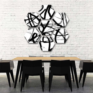 Abstraction Multi Panel Canvas Wall Art - Abstract