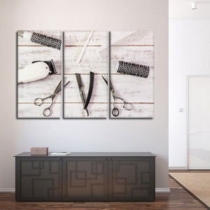 Hair Appointment Multi Panel Canvas Wall Art - Hair