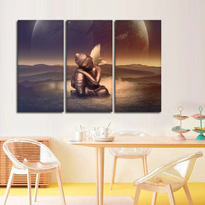 Peace In My Soul Multi Panel Canvas Wall Art - Buddhism
