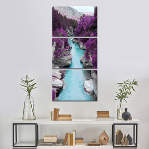 The Great Beyond Multi Panel Canvas Wall Art - Nature