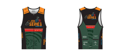 Chronos Tri Jersey Men's - Winding Trails