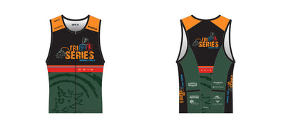 Chronos Tri Jersey Women's - Winding Trails