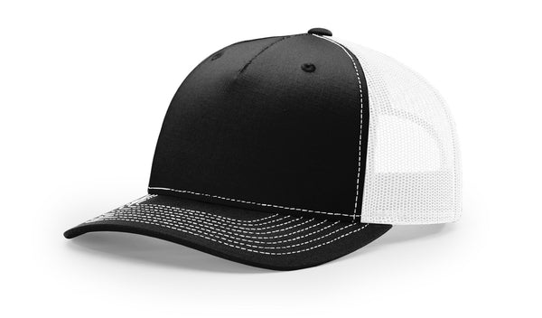 Richardson Cap Five Panel Trucker Mesh 112FP