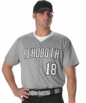 Alleson Baseball Jersey Youth Dura-Light Mesh 52MBFJY
