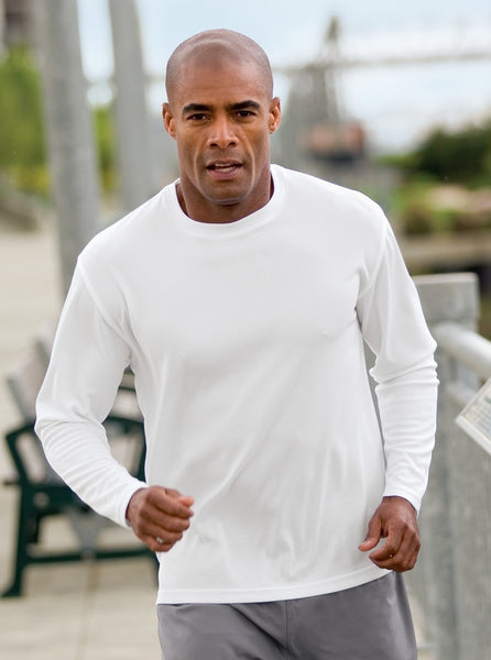 Sport-Tek Dri Mesh Long Sleeve T-Shirt K368