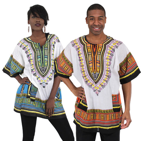 Unisex Traditional Dashiki