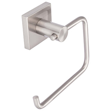 Image Of Towel Ring -  Daytona Bathroom Hardware Set  - Satin Nickel Finish - Harney Hardware