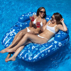 Swimline Tropical Double Lounge Pool Float