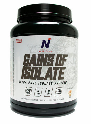 Gains of Isolate | Protein of the Gods!