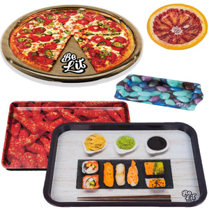 Foodie Rolling Tray & Ashtray Bundlebelitbrandbelitbrand