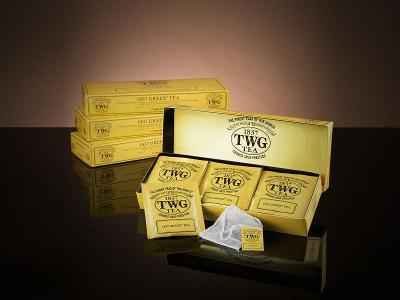 TWG Tea Teabags 1837 Green Tea