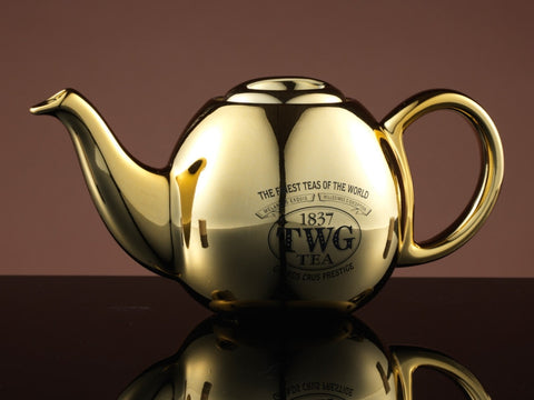 Design Gold Teapot in Black (900ml)