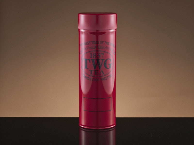 TWG Tea Modern Tea Tin in Red (100g)