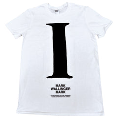 MARK WALLINGER MARK Exhibition T-Shirt