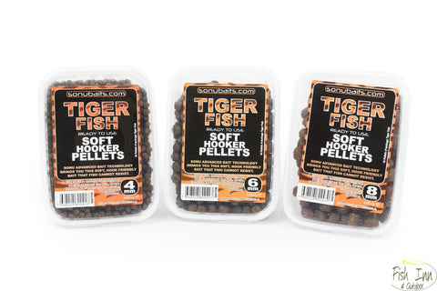 Sonubaits - Soft Hooker Pellets Tiger Fish 6mm