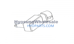Hyosung Fuel Tank Cover Silver Pair GD250N