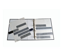 Archival Glassine Film negative sleeve pages for 35mm film, 25x42 exp sheets