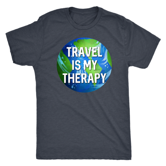 Travel is my Therapy xoxo shirt m/w/t