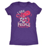 I like people in my own way skull shirt