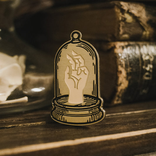 Bell Jar Enamel Pin